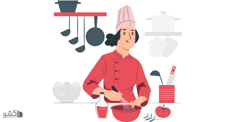 نمونه قرارداد طبخ غذا