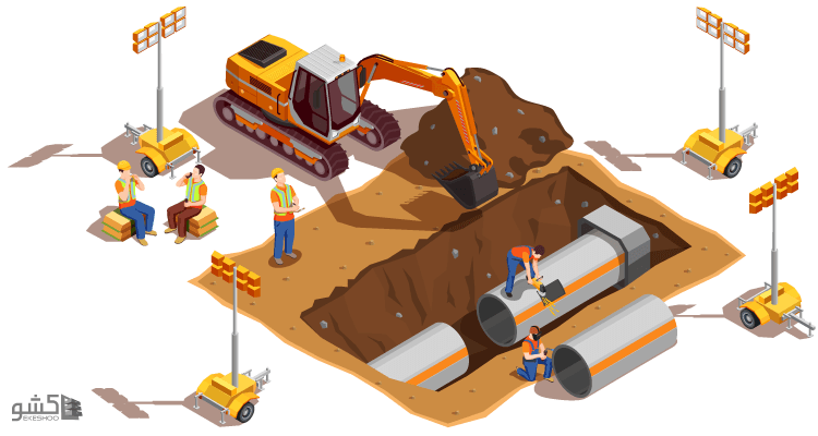 نمونه قرارداد خاکبرداری