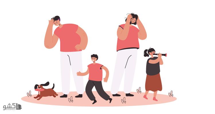 پرسشنامه تعارض کار - خانواده نت میر